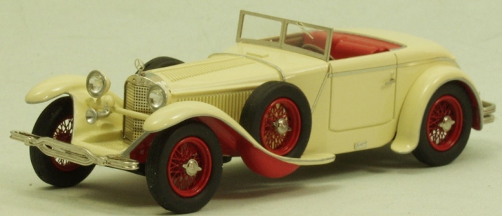 """Mercedes 680 S 26/120/180 PS Torpedo Roadster """"Saoutchik"""" (1928) chassis no.W40156 offenes Dach"""