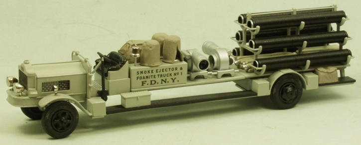 """White Smoke Ejector truck """"No.1 F.D.N.Y."""" 1949"""