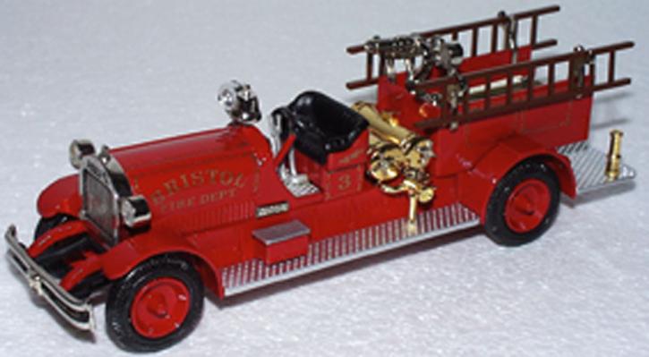 """1927 Ahrens - Fox Chemical Truck """"Bristol"""" No.3"""