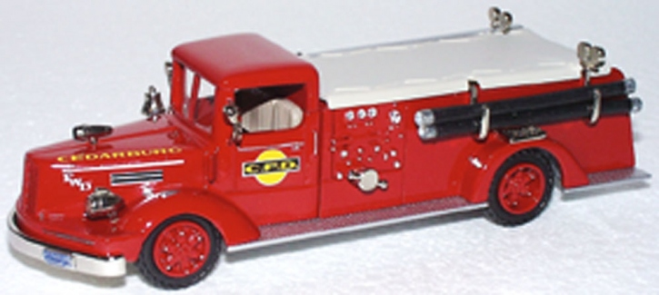 "1951 FDW Model F50T Pumper ""Cedarburg"" WI"