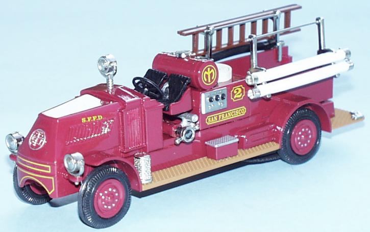 """1927 Mack AP, Typ 15 Pumper """"San Francisco""""  GOLD COL."""