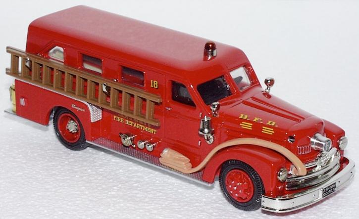 "1954 Seagrave Lim.Cab Pumper ""Detroit"" EngineNo.18 GOLD COL."