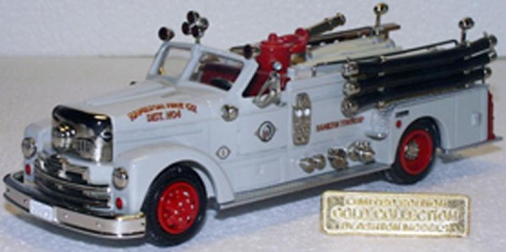 """1954 Seagrave 750GPM Pumper """"Hamilton""""Trenton, NJ  GOLD COL."""
