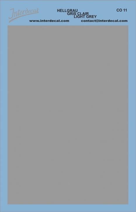 Bogen einfarbig (95 x140 mm) grau