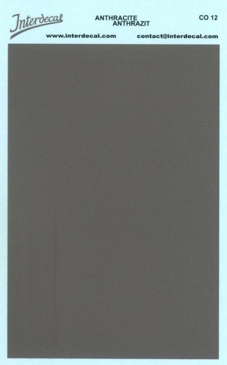 Bogen einfarbig (95 x140 mm) anthrazit