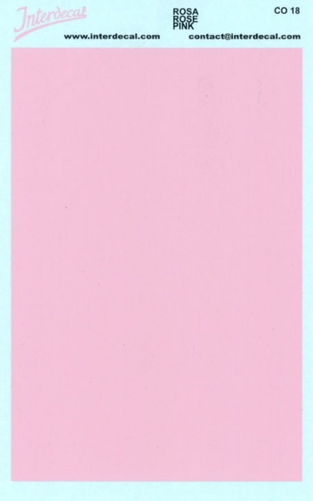 solid color plates (95 x140 mm) pink