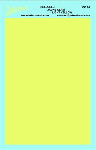 solid color plates (95 x140 mm) light yellow