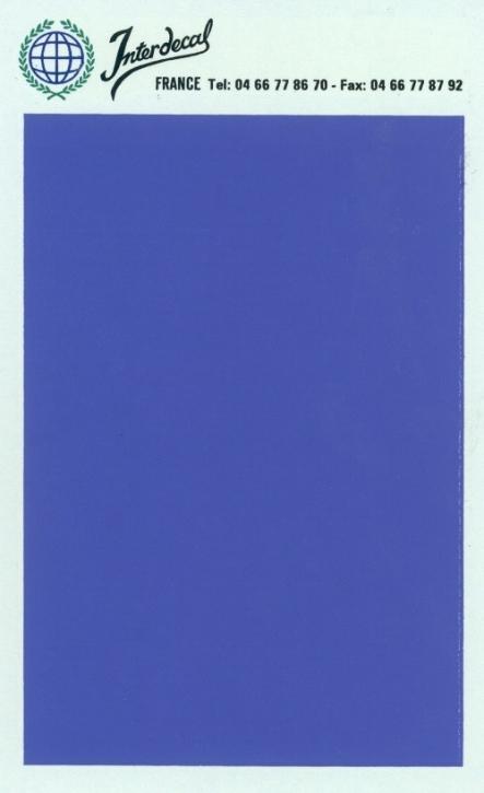 Bogen einfarbig (95 x140 mm) blau violet
