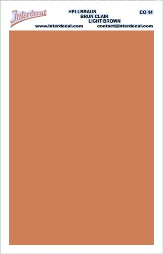 solid color plates (95 x140 mm) lightbrown