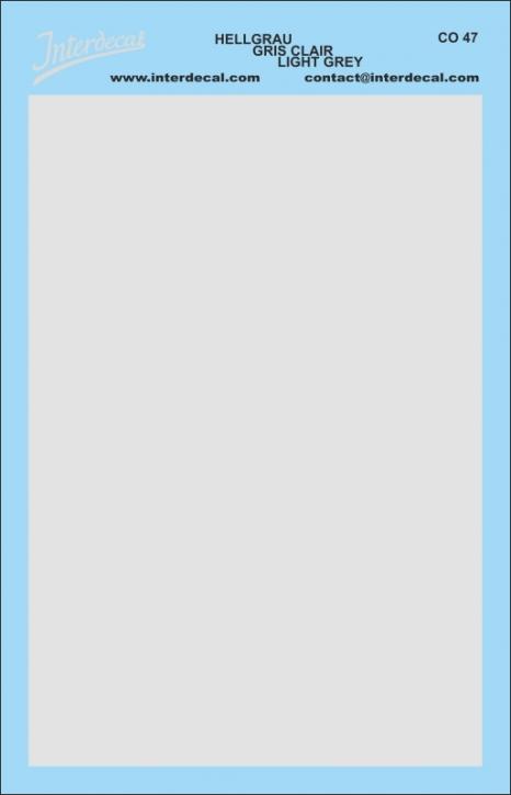 Bogen einfarbig (95 x140 mm) hellgrau