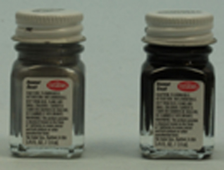 Testors -Enamel schwarz matt  7,4ml