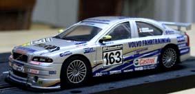 Volvo S60 Slotcar ( Volvo + 24h Rennen (2003 Klassensieger) ! mit Chassis und Fahrer!