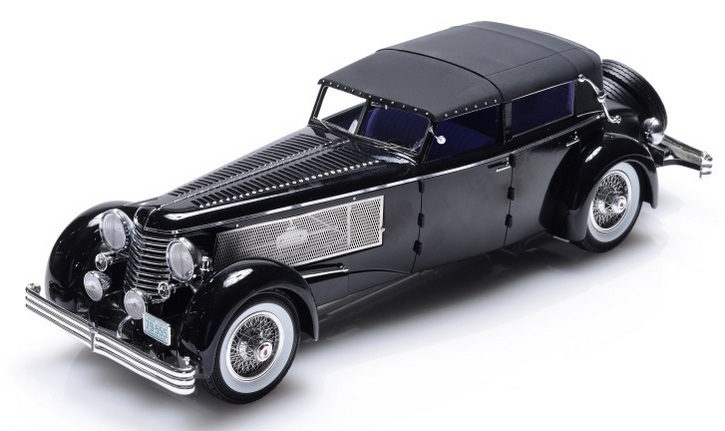 1937 Duesenberg SJ Town Car Chassis 2405 by Rollson for Mr. Rudolf Bauer (fully closed)