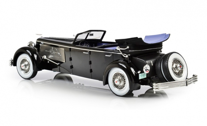 1937 Duesenberg SJ Town Car Chassis 2405 by Rollson for Mr. Rudolf Bauer (fully open)