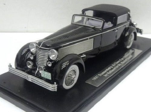 1937 Duesenberg SJ Town Car Chassis 2405 by Rollson for Mr. Rudolf Bauer (only back closed)