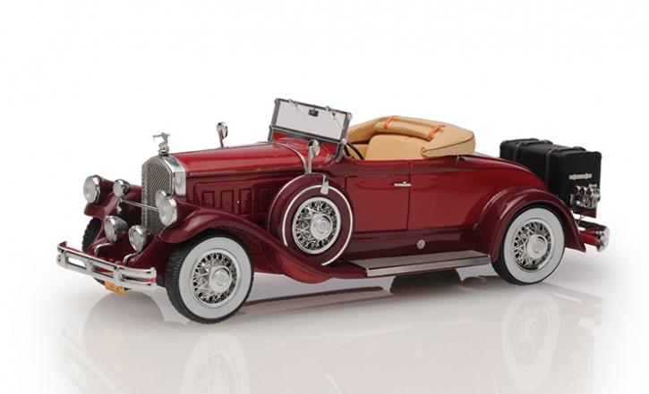 1930 Pierce Arrow Model B roadster - top down