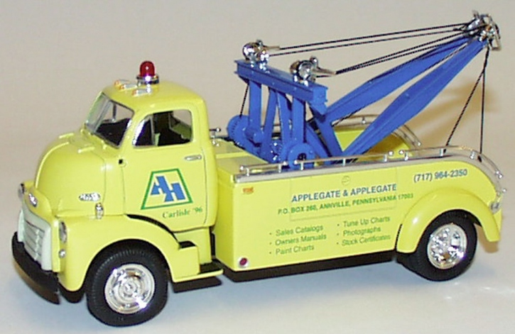 "GMC Tow Truck ""Applegate & Applegate"""
