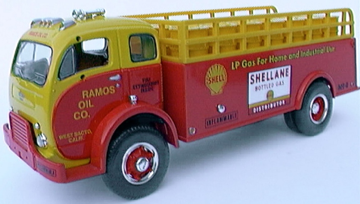 "White 3000 Stake Truck ""SHELLANE"""