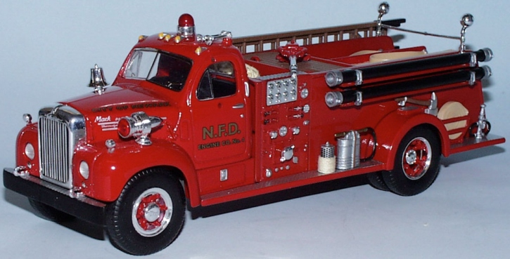 "Mack B-61 Fire Truck ""Newark"""