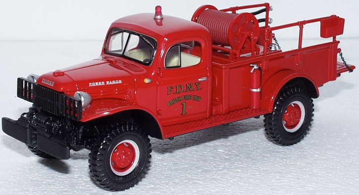 Dodge Power Wagon F.D.N.Y Brush Firw Unit No.1