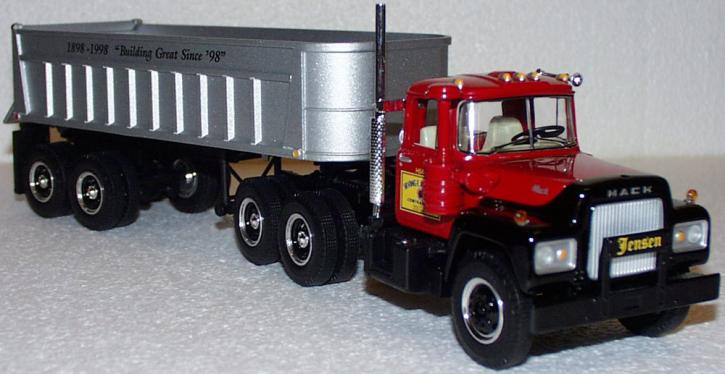 """Mack R-600 """"Truck/Dumptrailer"""" """"Irving Jensen"""""""