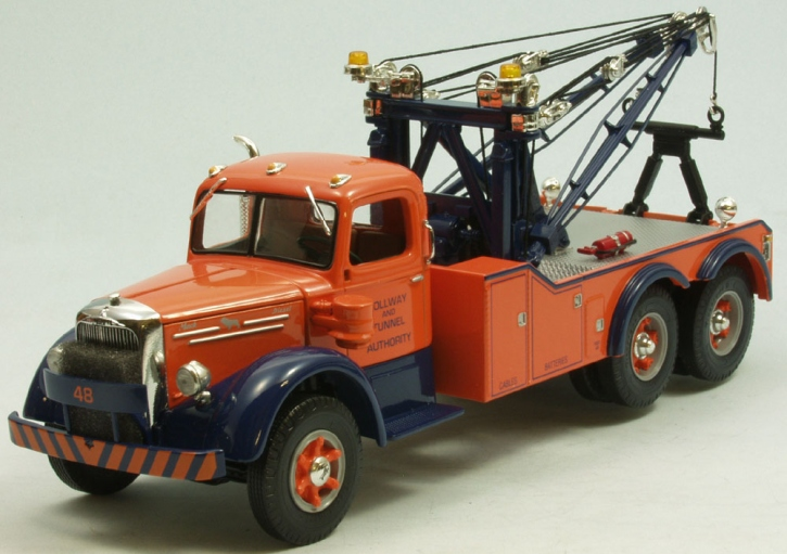 "Mack L Series Tow Truck ""Tollway & Tunnel"""