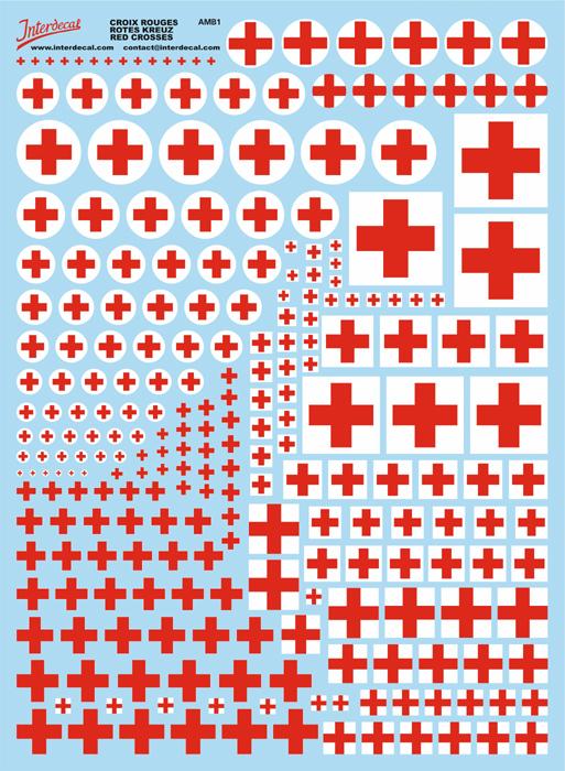 Rotes Kreuz  (170x230 mm)