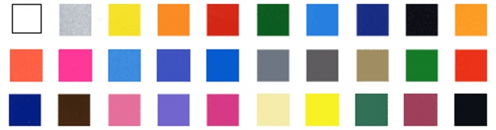 Bogen einfarbig (95 x140 mm)  Klarlack