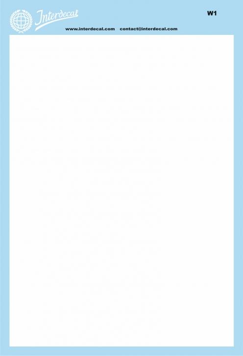 Bogen einfarbig (190 x130 mm) weiss (INT-CO01-W2)