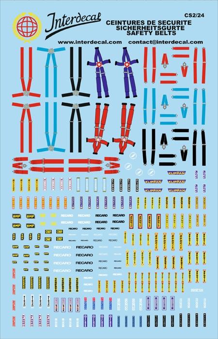 Safety belts (230x150 mm) 1:24