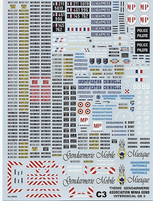French Police  (170x240 mm)