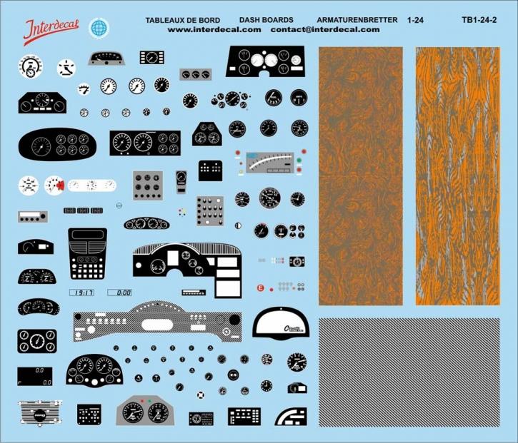 Dashboards  02  1/24 (150x130 mm)