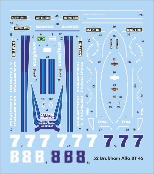 Brabham Alfa BT45 (90x80 mm) JA1751