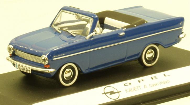 Opel Kadett A Cabriolet (Karosserie Welsch)