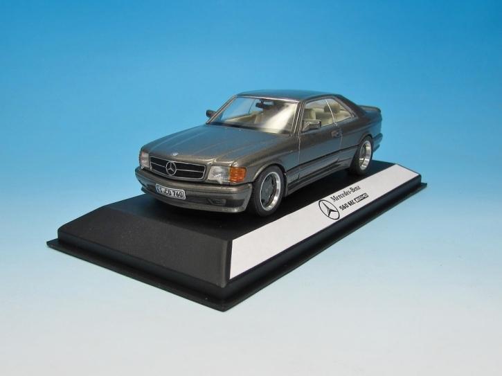 Mercedes-Benz 560 SEC C126 AMG Coupeblue-black met  (wide