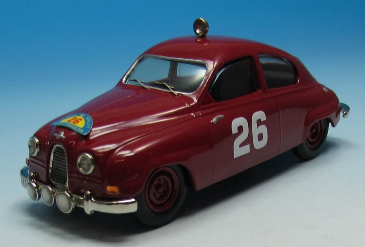 Saab 93  X. Svenska Rallyt till Midnattssolen 1959 Erik Carlsson/Mario Pavoni (No. 26)