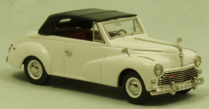 "Peugeot 203 ""Worblaufen"" Cabriolet closed top"
