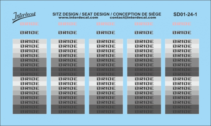 Sitz Design / seat design / conception de siège 01 1/24 (90x54 mm)