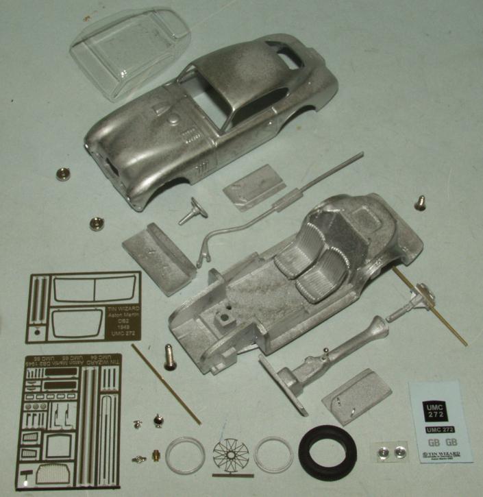 Aston Martin DB Mark II (UMC 272) Chassis No. LML/49/4