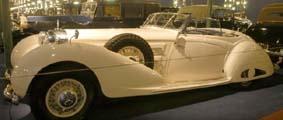 Mercedes Benz 540K (W29) Sport Cabriolet (offen)