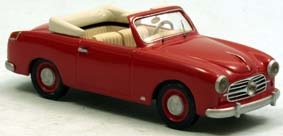 NSU-Fiat  Neckar Sport convertible 1955 open top