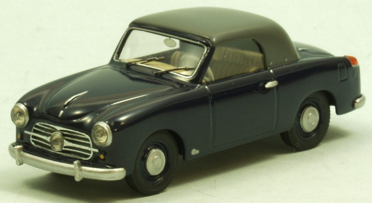 NSU-Fiat  Neckar Sport convertible closed top 1955