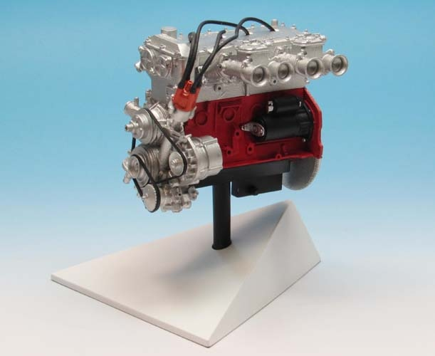 Opel  Engine (400)  scale 1/8  (1971)