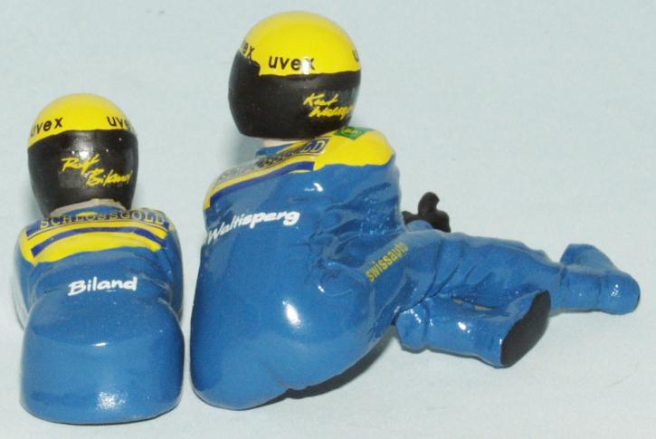 "figures for Sidecar racing team ""Schlossgold  Biland / Waltisberg"""