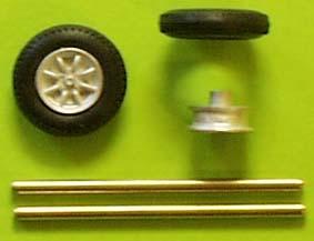 Radset (1/43)  Zinnlegierung ZU0111-0