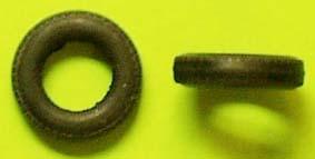 1 x Reifen 1/43 Gummi ø= 15,5mm x 3,8mm