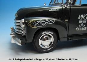 Reifenbeschriftungen Decal 6 Offroad / Musclecar 16 Zoll 1/18 (140x90 mm)