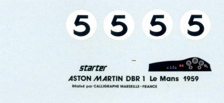 Aston Martin DBR1 Le Mans 1959 1/43 JA0976-AM