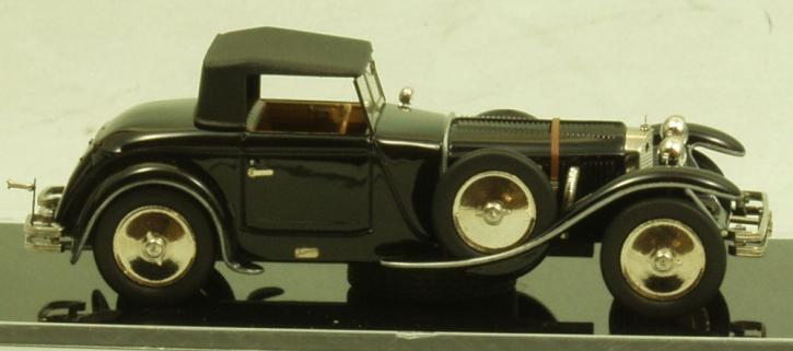 """Mercedes 680 S 26/120/180 PS Torpedo Roadster """"Saoutchik"""" (1928)_chassis no.35968_geschl Dach"""