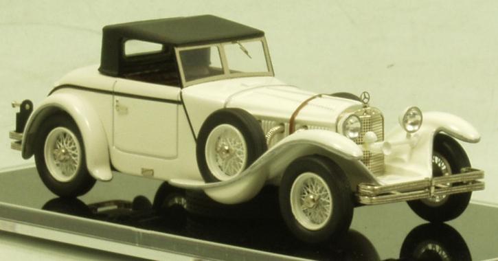"""Mercedes 680 S 26/120/180 PS Torpedo Roadster """"Saoutchik"""" (1928)_chassis no.35966_geschl Dach"""